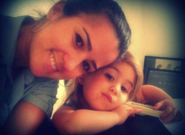 Mel e a filha _ acervo pessoal